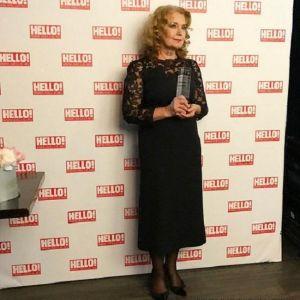Подробнее: Ирина Алферова  в кружевном платье была неотразима на премии Hello!