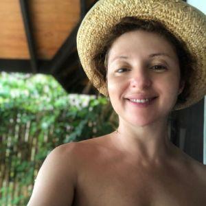 Подробнее: Анна Банщикова поделилась фото в красном купальнике