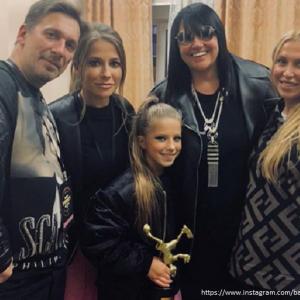 Подробнее: Дочь Юлии Барановской выиграла танцевальный батл