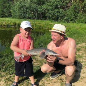 Подробнее: Марат Башаров отметил 4-летие сына Марселя на рыбалке