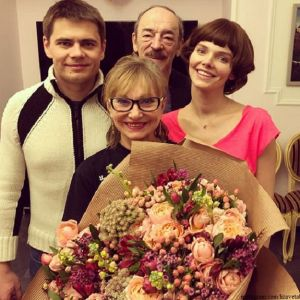 Подробнее: Елизавета Боярская представила всю свою театральную династию