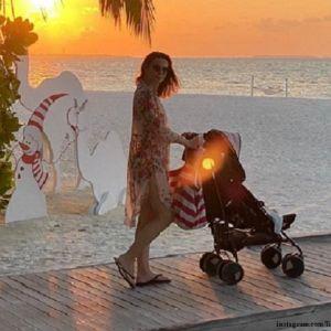 Подробнее: Елизавета Боярская в купальнике и с бокалом вина попрощалась с Мальдивами