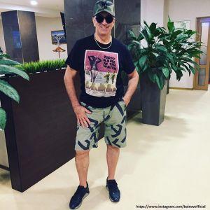 Подробнее: Александр Буйнов из-за взрыва едва не лишился глаз