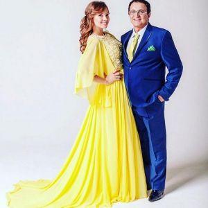 Подробнее: Дмитрий и Полина Дибровы отмечают розовую свадьбу
