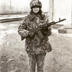 Подробнее: Фото Оксаны Федоровой в военной форме