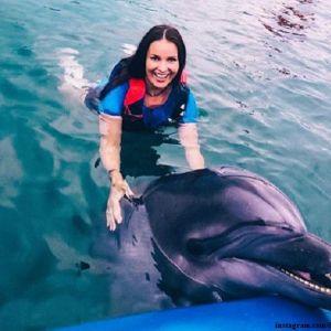 Подробнее: Оксана Федорова показала танец с дельфином