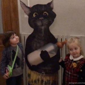 Подробнее: Максим Галкин с Лизой и Гарри побывали на детском мюзикле