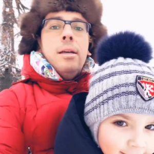 Подробнее: Максим Галкин показал, как проводит зимой время с детьми