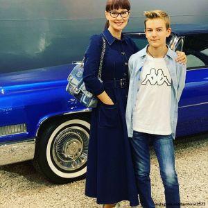 Подробнее: Нонна Гришаева поделилась видео, на котором ее сын играет  на саксофоне
