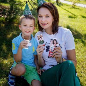 Подробнее: Ольга Кабо  устроила для сына «футбольное» день рождения
