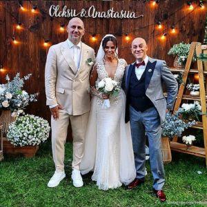 Подробнее: Настя Каменских и Алексей Потапенко (Потап) сыграли свадьбу в Киеве