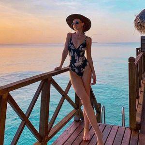 Подробнее: Юлианна Караулова отдыхает топлес на Мальдивах