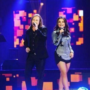 Подробнее: Наташа Королева и Игорь Николаев выступили дуэтом