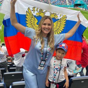 Подробнее: Мария Кожевникова показала «талисман» нашей сборной по футболу