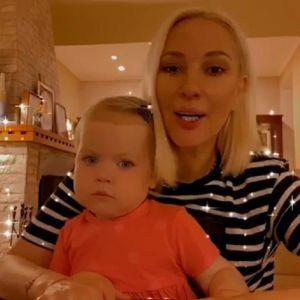 Подробнее: Двухлетняя дочка Леры Кудрявцевой помогает маме по хозяйству (видео)