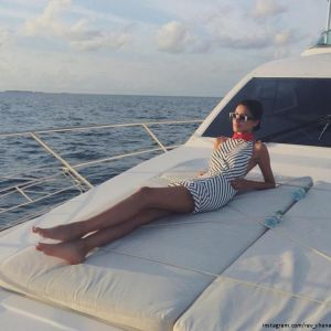 Подробнее: Равшана Куркова проводит отпуск на Мальдивах с мамой