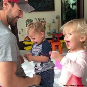 Подробнее: Энрике Иглесиас показал, как играет с подросшим сыном от Анны Курниковой