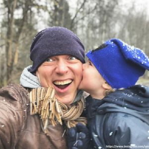 Подробнее: Сергей Лавыгин показал снимок подросшего сына