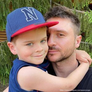Подробнее: Сергей Лазарев показал совместное фото с сыном