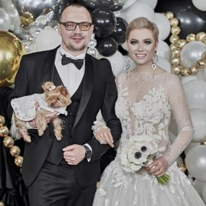 Подробнее: Лена Ленина с короткой стрижкой и в баснословно дорогом платье вышла замуж за повара