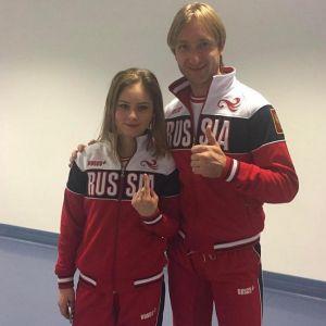 Подробнее: Юлию Липницкую готов взять к себе Евгений Плющенко