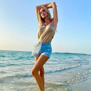 Подробнее: Виктория Лопырева поделилась фото и видео с отдыха на пляже с сыном