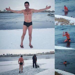 Подробнее: Антон Макарский: «а где у вас купаются?»