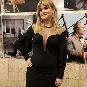 Фото Анны Михалковой. Подробнее: Анне Михалковой устроили травлю из-за сына Андрея Бакова