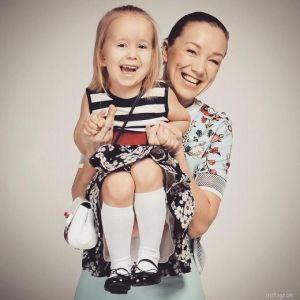 Подробнее: Дарья Мороз сама шьет платья для своей дочери