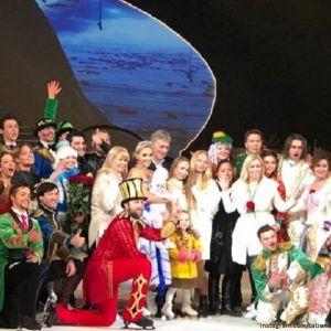 Подробнее: Дмитрий Песков с дочерьми поддержал Татьяну Навку на премьере «Аленького цветочка»