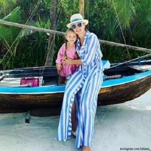 Подробнее: Татьяна Навка продемонстрировала, как выглядит без прически и макияжа на фото из отпуска