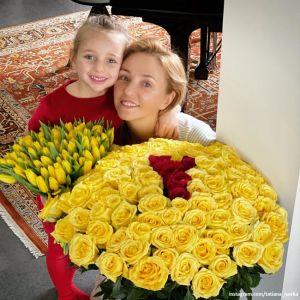 Подробнее: Татьяна Навка показала 6-летнюю дочь в пуантах и балетной позиции