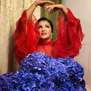 Подробнее: Анна Нетребко предстала в стильном образе с «горшком» в руках