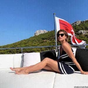 Подробнее: Нино Нинидзе похвасталась фигурой в бикини на отдыхе с Виторганом
