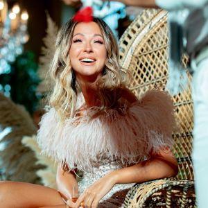 Подробнее: Певица Нюша отпраздновала свой юбилей в мини с пайетками и перьями