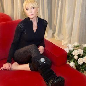 Подробнее: Кристина Орбакайте придумала оригинальный способ передвижения со сломанной ногой