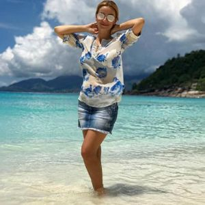 Подробнее: Ольга Орлова отпраздновала 40-летие на Сейшелах в бикини