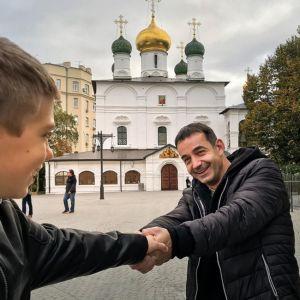 Подробнее: Дмитрий Певцов поделился совместными фото с  подросшим сыном