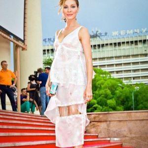 Подробнее: Елена Подкаминская как будто создана для глянцевых журналов