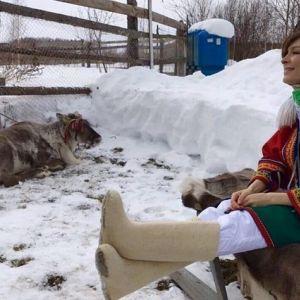 Подробнее: Елена Подкаминская пустилась в таежные приключения (видео)