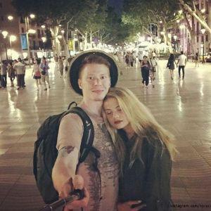 Подробнее: Никита Пресняков познакомил свою возлюбленную с годовалым братом