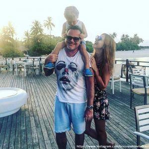 Подробнее: Владимир Пресняков приучает сына к экстремальному виду спорта