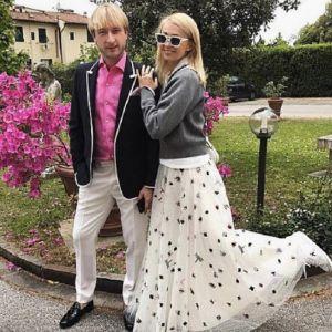 Подробнее: Яна Рудковская с Евгением Плющенко решили повенчаться