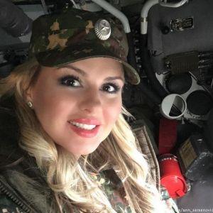 Подробнее: Анна Семенович теперь водит БТР