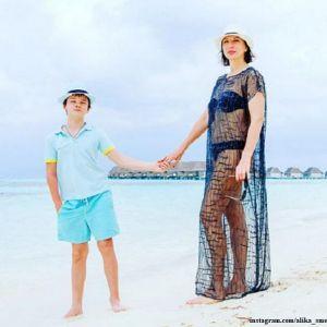Подробнее: 50-летняя Алика Смехова публикует фото в бикини с отдыха на Мальдивах