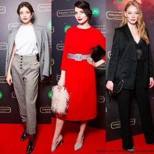Подробнее: Чиповская, Снигирь, Ходченкова, Цыганов  и другие посетили премьеру «Хождения по мукам»
