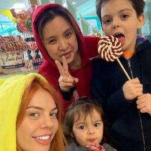 Подробнее: Анастасия Стоцкая показала, чем занималась в выходной с детьми