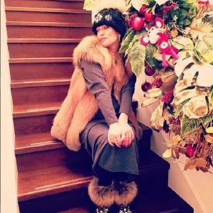 Подробнее: Олеся Судзиловская  отмечает праздник за праздником