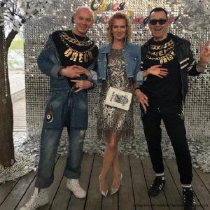 Подробнее: Олеся Судзиловская устроила ретро - вечеринку в стиле 90-х