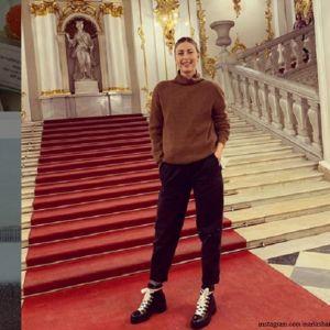 Подробнее: Мария Шарапова впервые прибыла в Санкт-Петербург в компании бойфренда-миллионера